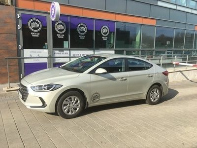 We are welcoming a new family member to our fleet, the new Hyundai Elantra has arrived!